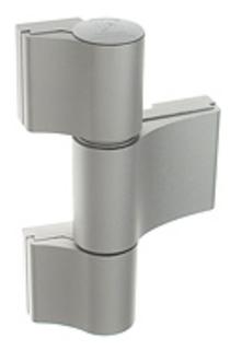 Gångjärn 4AT 3-Del 109,5mm         Ankarskruv 37,5mm Natur