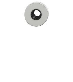 Tryckesrosett FSB 1731 Aluminium   F1 Silver