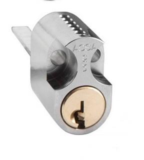 Cylinder 1309 Lika Låsning Ej      Nycklar Nickel