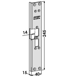 Monteringsstolpe ST6527