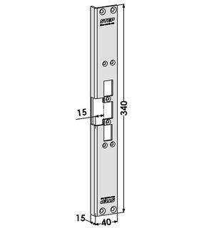 Monteringsstolpe ST6530