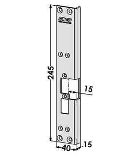 Monteringsstolpe ST6531
