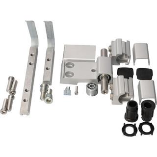 Gångjärn 60AT 3-Del 62,5mm 57,5/5  Platta 15mm Natur