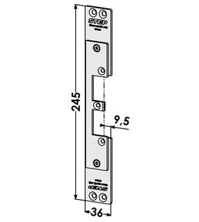 Monteringsstolpe ST9545
