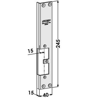 Monteringsstolpe ST9519H Höger