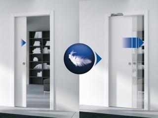 Dämpare för Enkeldörr 40-60Kg