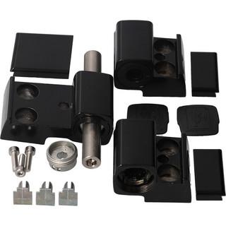 Gångjärn 60AT 3-Del 62,5mm utan Skruv Svart