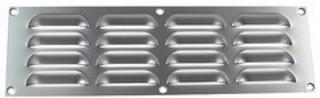 Ventilgaller 400X90 Aluminium      Natur