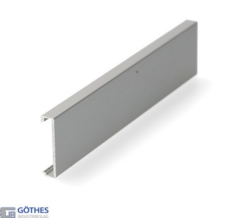 Täckprofil Porta 60/100 HMD 6m för Vägghängd Bärskena