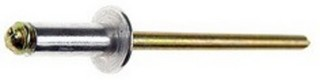 Blindnit 3,2X10 Aluminium/Stål Vit RAL 9010