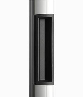 Magnetlås BO600PRSTD med           Draghandtag L=600mm