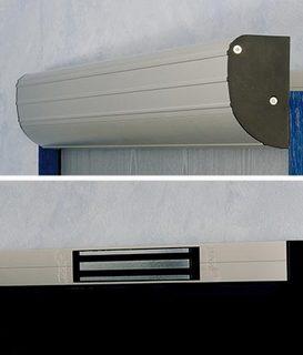 Magnetlås BO600RH med Draghandtag  L=925mm