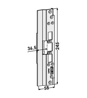 Monteringsstolpe ST6572