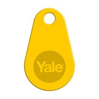 Nyckeltag V2N Yale Doorman Gul