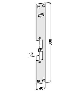 Monteringsstolpe ST9522 Höger