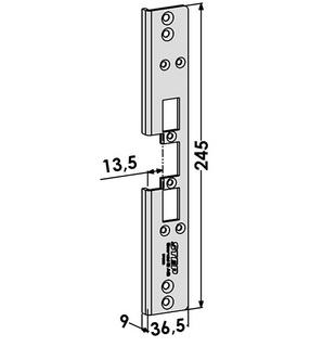 Monteringsstolpe ST6585