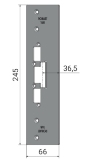 Monteringsstolpe T68