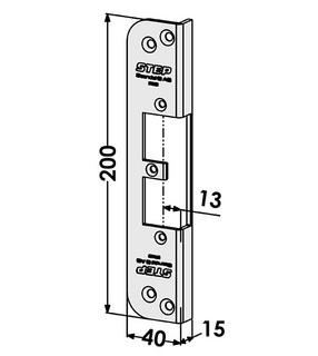Monteringsstolpe ST9523
