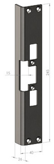 Monteringsstolpe SA25