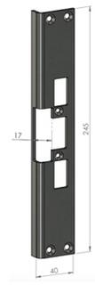 Monteringsstolpe SA30-17