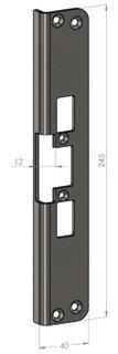 Monteringsstolpe SA30T-12