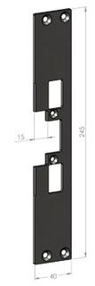 Monteringsstolpe SA31-15