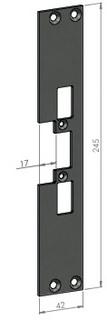 Monteringsstolpe SA31-17