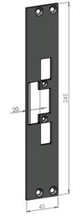 Monteringsstolpe SA31-20
