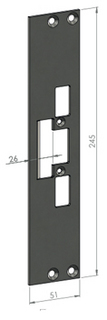 Monteringsstolpe SA31-26