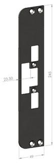Monteringsstolpe SA46