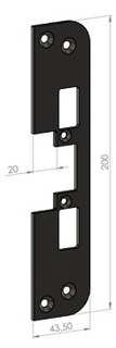 Monteringsstolpe SA87-20