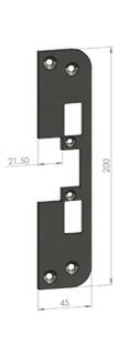 Monteringsstolpe SA87-21