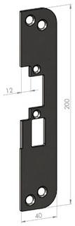 Monteringsstolpe SA50-12