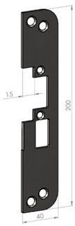 Monteringsstolpe SA50-15