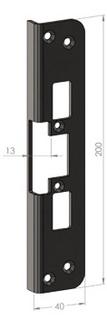 Monteringsstolpe SA87B-13