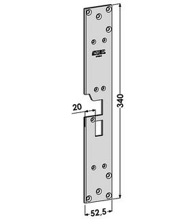 Monteringsstolpe ST1805-B Höger