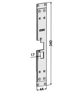 Monteringsstolpe ST1865-B Höger