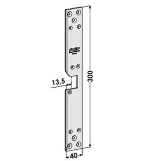 Monteringsstolpe ST1883-B Höger