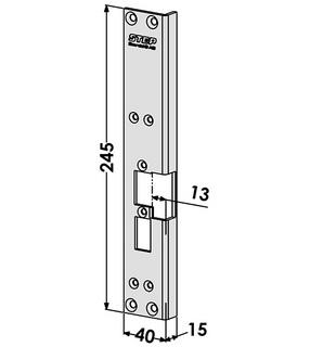 Monteringsstolpe ST6069