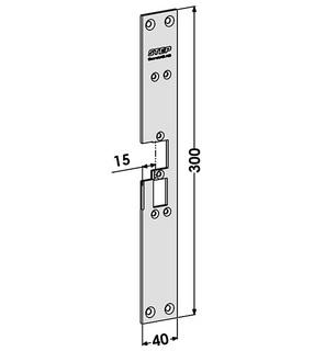Monteringsstolpe ST6528