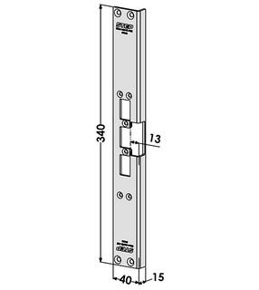 Monteringsstolpe ST6539