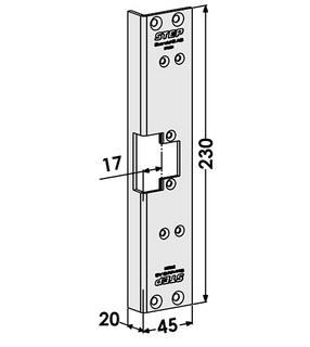 Monteringsstolpe ST6581