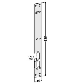 Monteringsstolpe ST6540