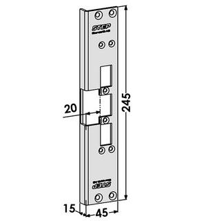 Monteringsstolpe ST6556