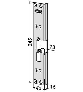 Monteringsstolpe ST6560
