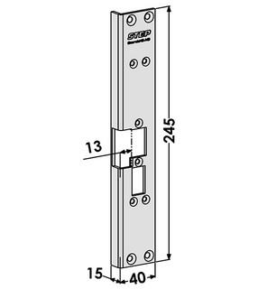 Monteringsstolpe ST6561