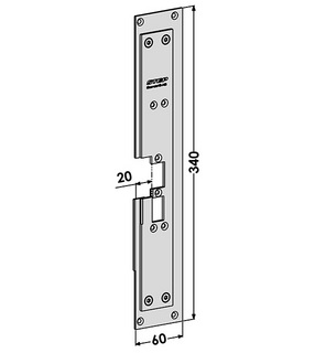 Monteringsstolpe ST6580-B Höger