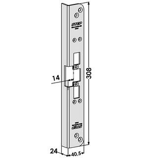 Monteringsstolpe ST6582