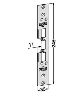 Monteringsstolpe ST6590