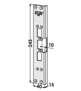 Monteringsstolpe ST6605
